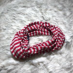 American Eagle   striped infinity scarf